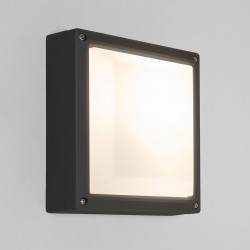 Astro Arta 210 Square Black Outdoor Wall Light