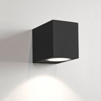 Astro Chios 80 Black Outdoor Wall Light