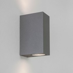 Astro Chios 150 Painted Silver Outdoor Wall Light
