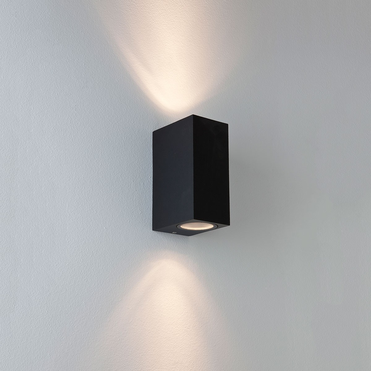 Luxury Exterior Wall Lights : Astro Chios 150 Black Outdoor Wall Light at UK Electrical Supplies.