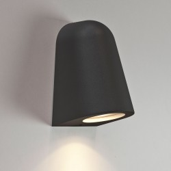 Astro Mast Light Black Outdoor Wall Light
