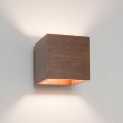 Astro Cremona Walnut Wall Light