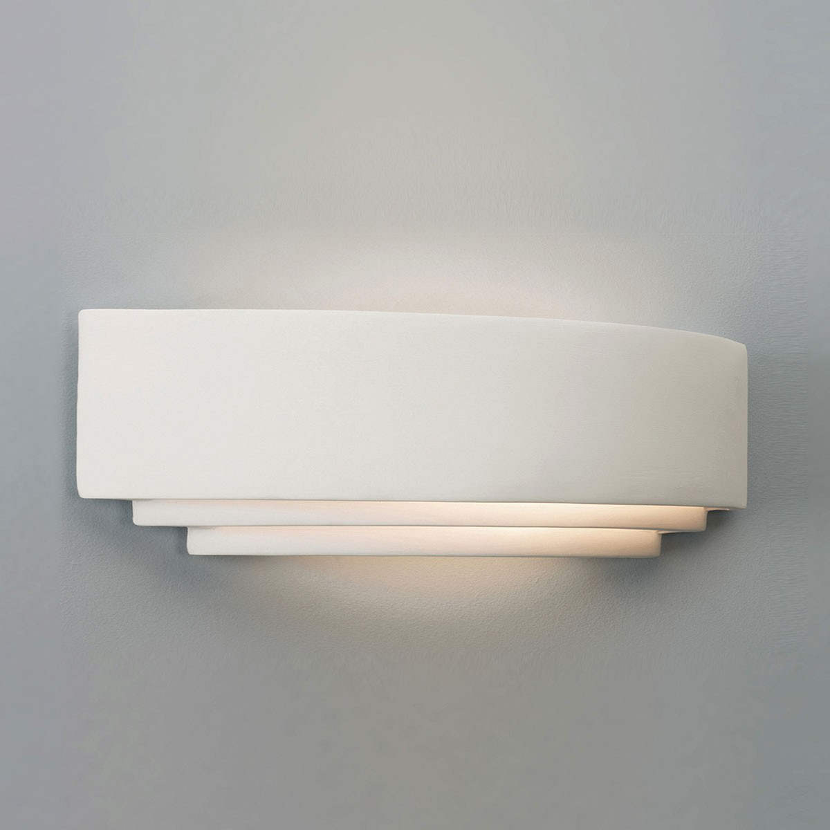 Wall Plaster Products : Astro amalfi plus plaster wall light at uk electrical