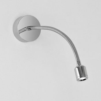 Astro Fosso Surface Polished Chrome LED Wall Light