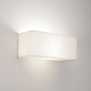 Astro Ashino Wide White Wall Light