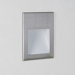 Astro Borgo 90 3000K Brushed Stainless Steel LED Wall Light
