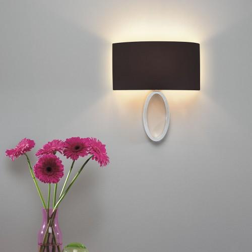 Astro Lima Polished Chrome Wall Light