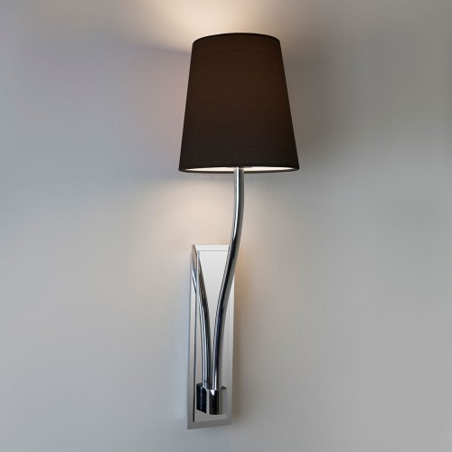 Astro Limoges Single Polished Chrome Wall Light