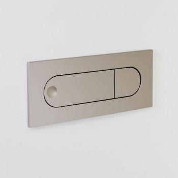 Astro Digit Matt Nickel LED Wall Light