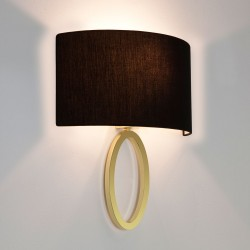 Astro Lima Matt Brass Wall Light