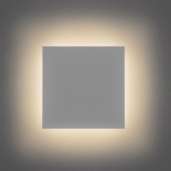 Astro Eclipse 300 Square 3000K Plaster LED Wall Light