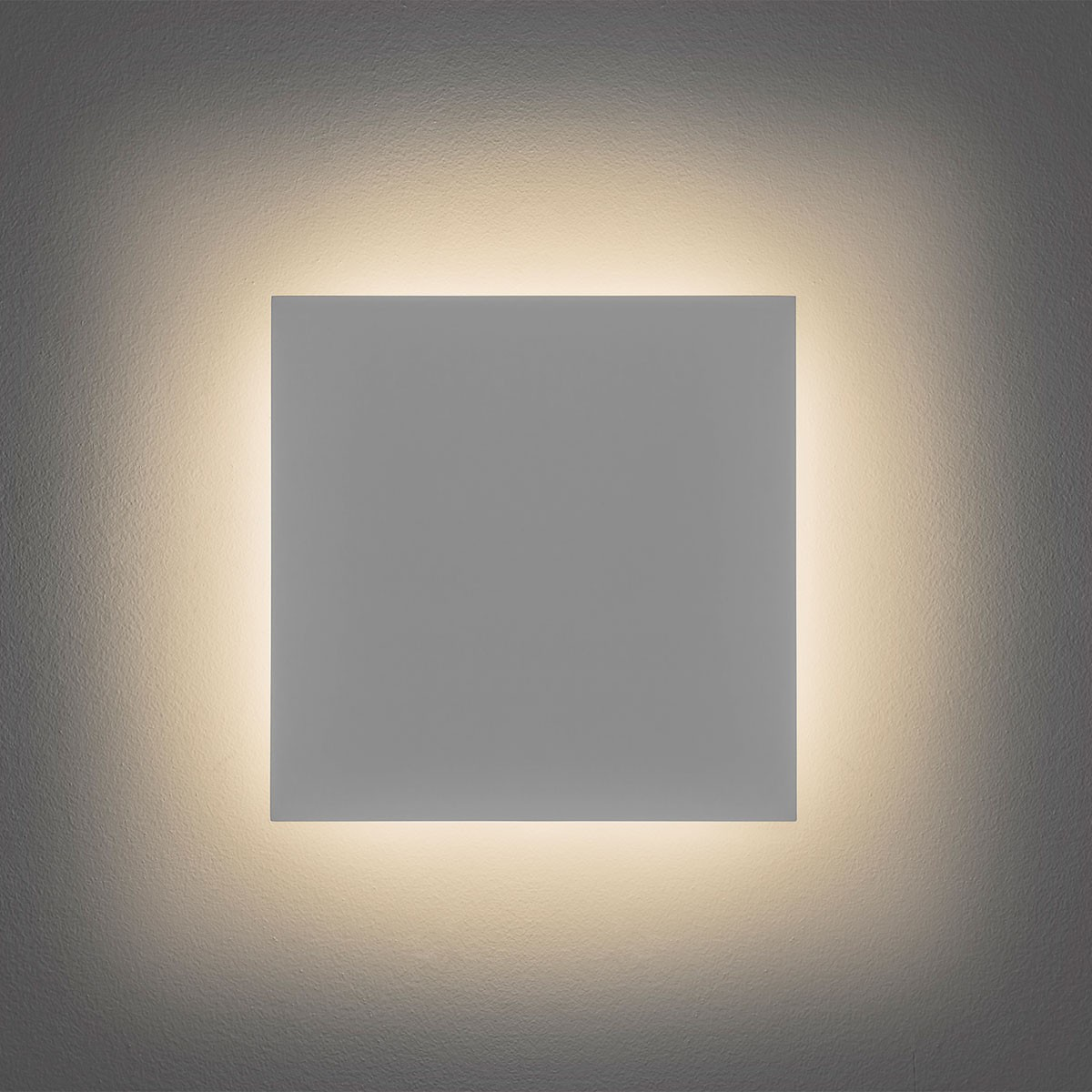 Astro Eclipse 300 Square 3000K Plaster LED Wall Light at UK Electrical Supplies.