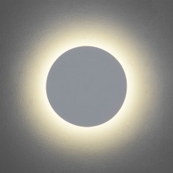 Astro Eclipse 250 Round 3000K Plaster LED Wall Light