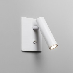 Astro Enna Square Switched LED White Wall Light