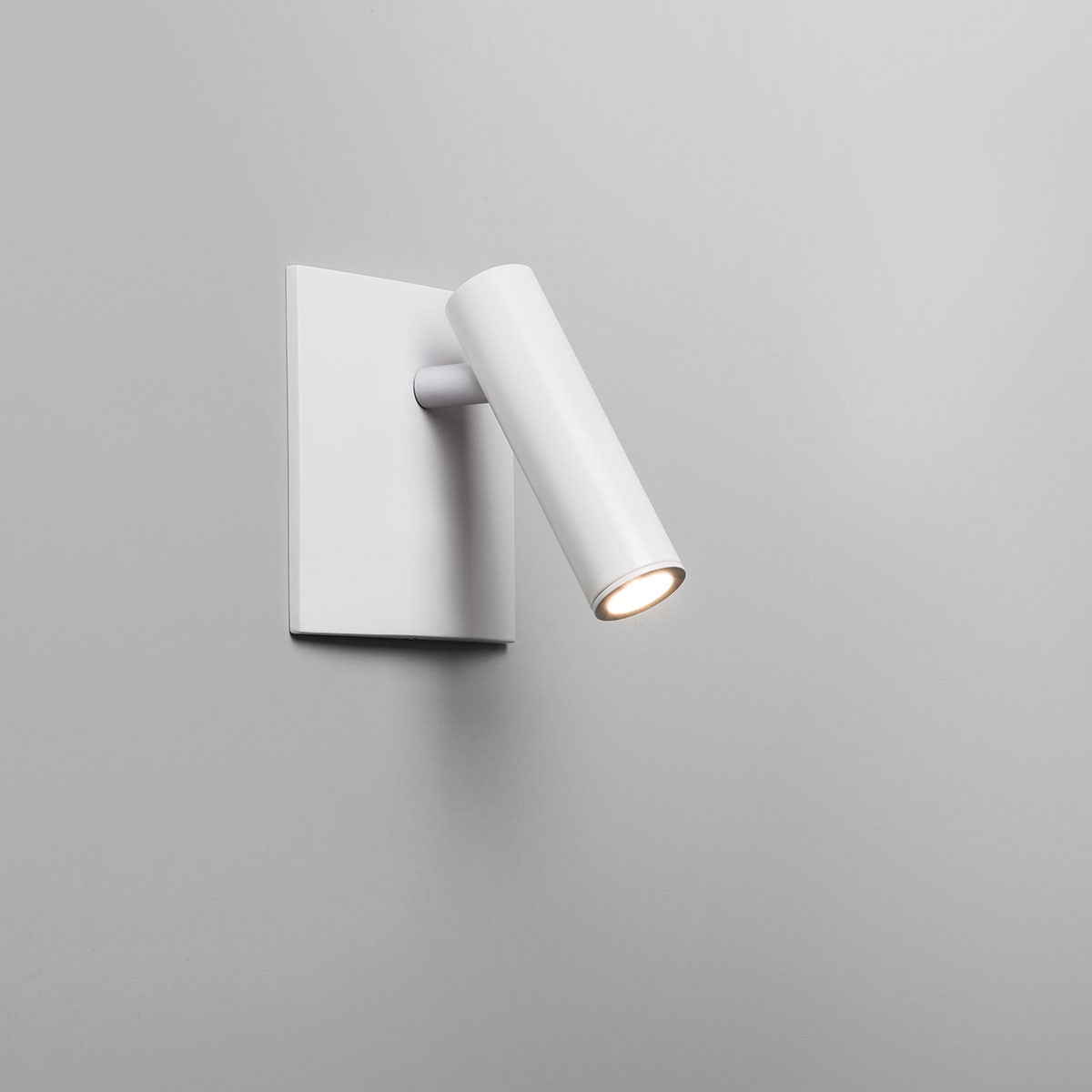 All Square Wall Lights : Astro Enna Square Unswitched LED White Wall Light at UK Electrical Supplies.