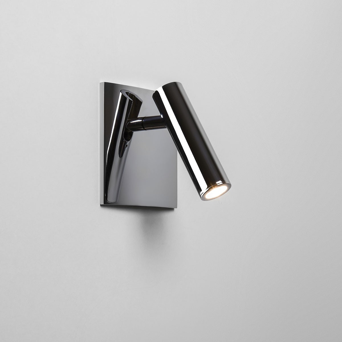 Square Chrome Wall Lights : Astro Enna Square Unswitched Polished Chrome LED Wall Light at UK Electrical Supplies.