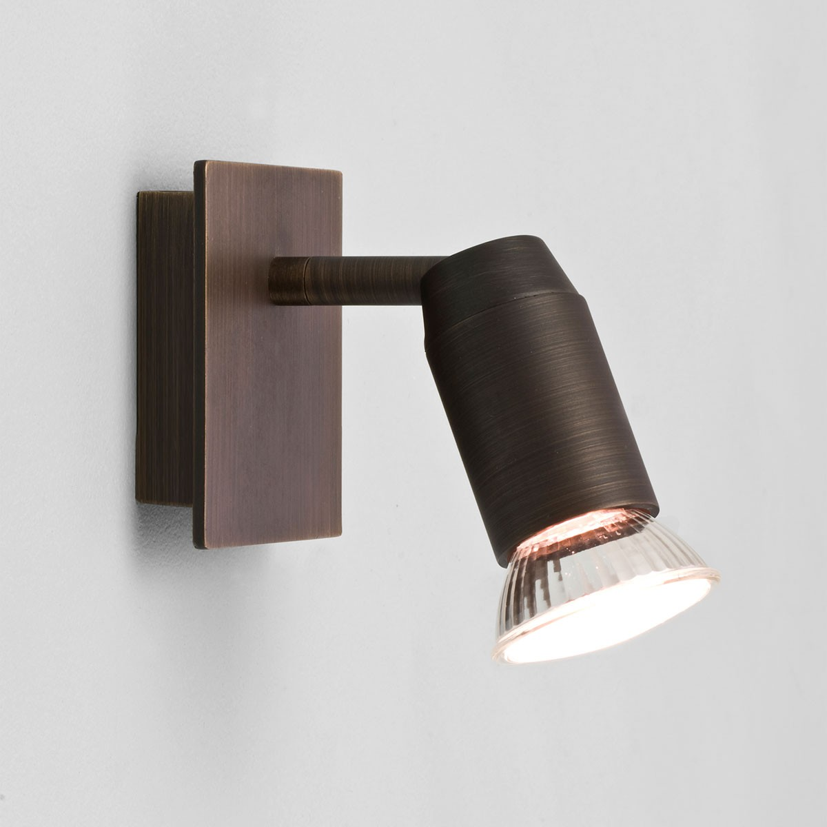 Astro Magna Single Bronze Spotlight At Uk Electrical Supplies