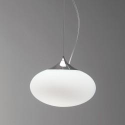 Astro Zeppo 300 White Glass Pendant Light