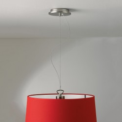 Astro Matt Nickel Pendant Light with Suspension Kit