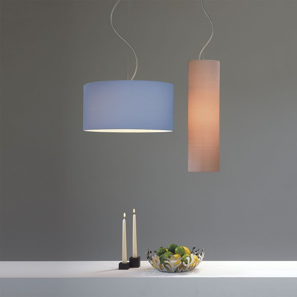 Astro Matt Nickel Pendant Light With Suspension Kit At UK