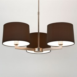 Astro Martina 3 Matt Nickel Pendant Light