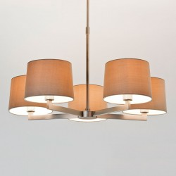Astro Martina 5 Matt Nickel Pendant Light