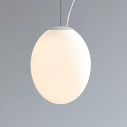 Astro Cortona 320 White Glass Pendant Light