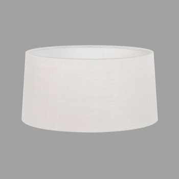 Astro Azumi Round Floor White Fabric Shade