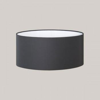 Astro Oval Black Fabric Shade