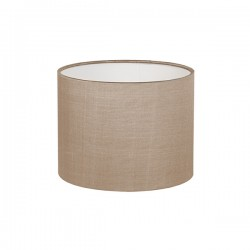 Astro Drum 150 Oyster Fabric Shade