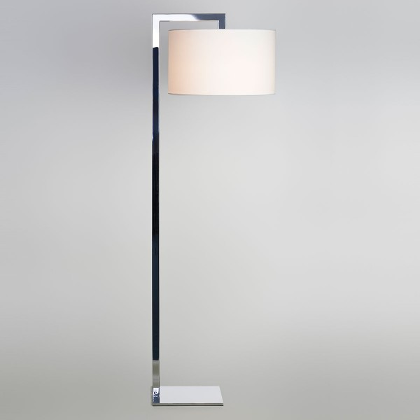 Astro Ravello Polished Chrome Floor Lamp