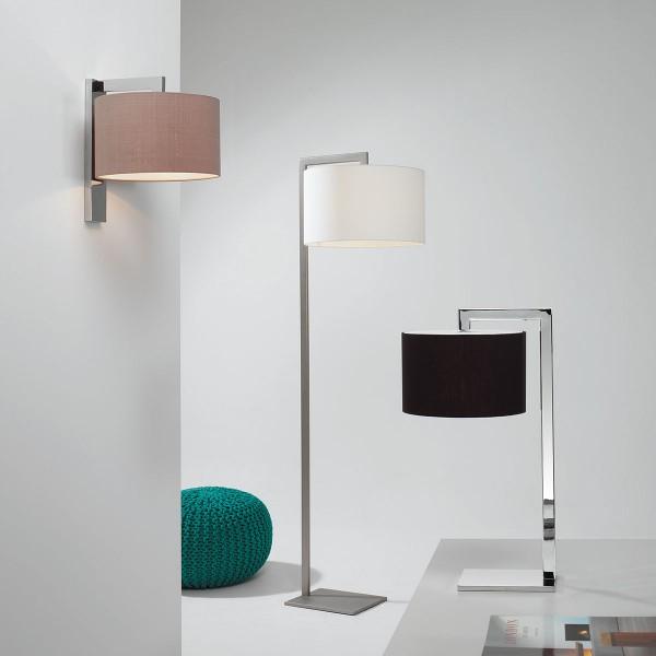 Astro Ravello Matt Nickel Floor Lamp at UK Electrical Supplies.
