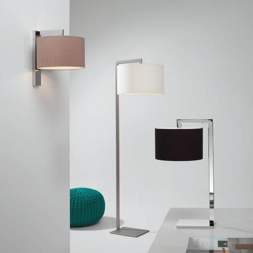 Astro Ravello Matt Nickel Floor Lamp