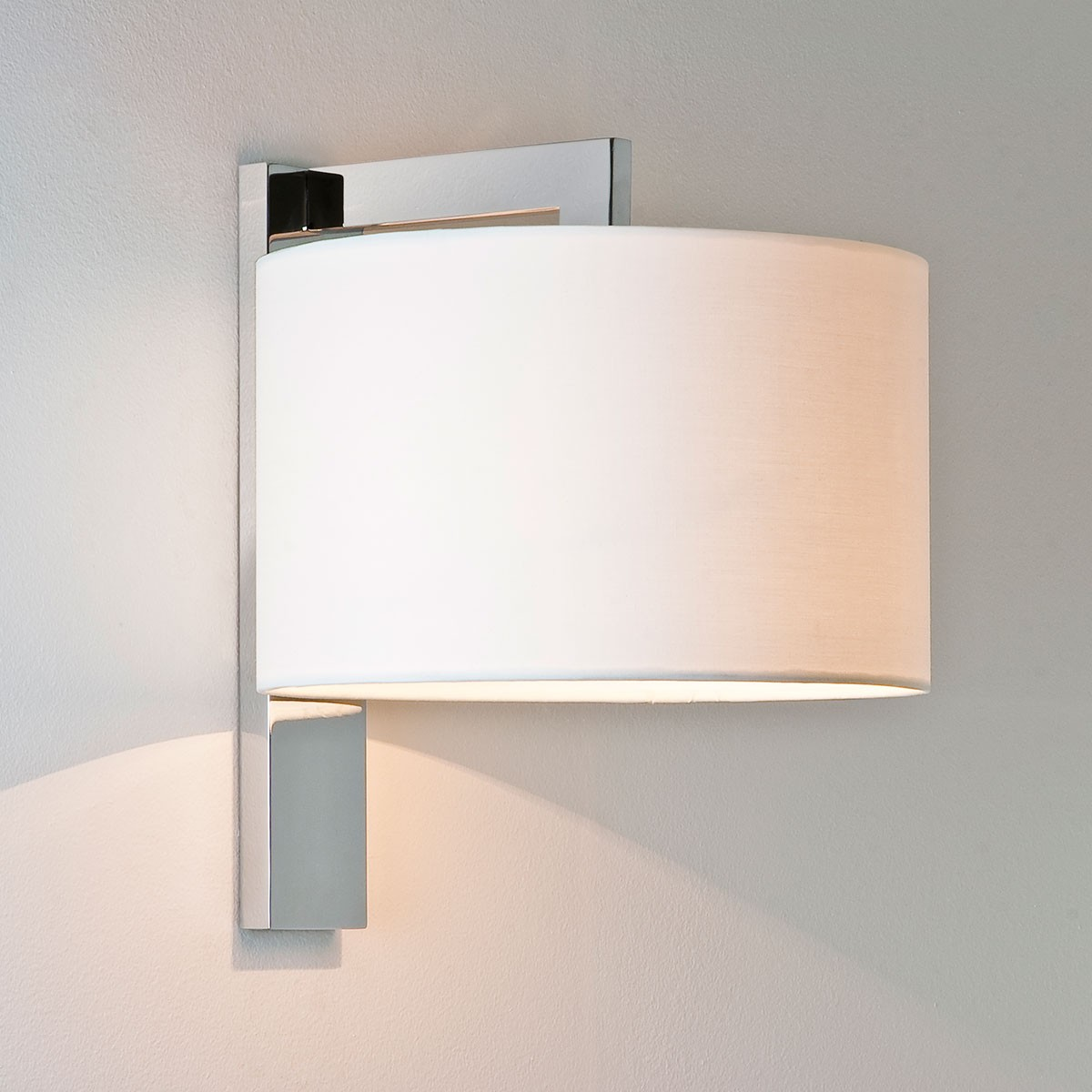 Chrome Internal Wall Lights : Astro Ravello Polished Chrome Wall Light at UK Electrical Supplies.