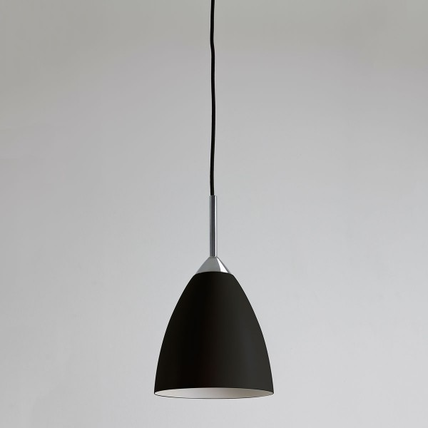 Astro Joel Black And Polished Chrome Pendant Light