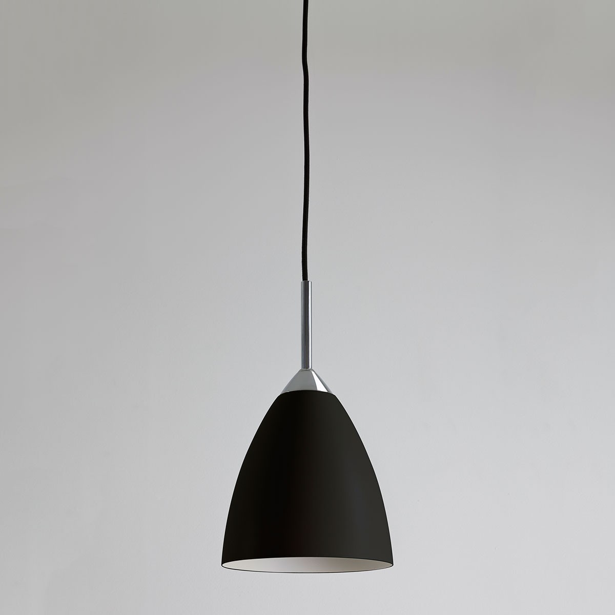 Astro joel black and polished chrome pendant light at uk electrical astro joel black and polished chrome pendant light aloadofball Gallery