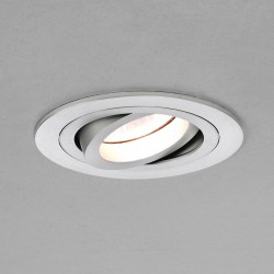 Astro Taro Round MR16 Brushed Aluminium Adjustable Downlight