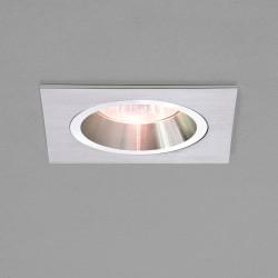 Astro Taro Square MR16 Brushed Aluminium Downlight