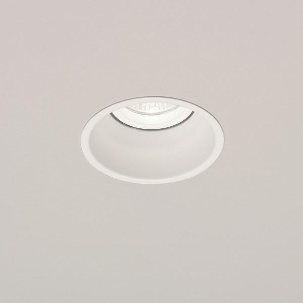 Astro Minima Round GU10 White Downlight