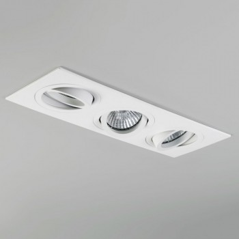 Astro Taro Triple GU10 White Adjustable Downlight