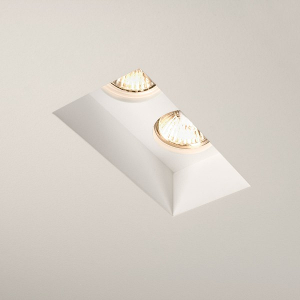 Astro Blanco Twin GU10 Plaster Downlight