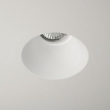 Astro Blanco Round GU10 Plaster Downlight