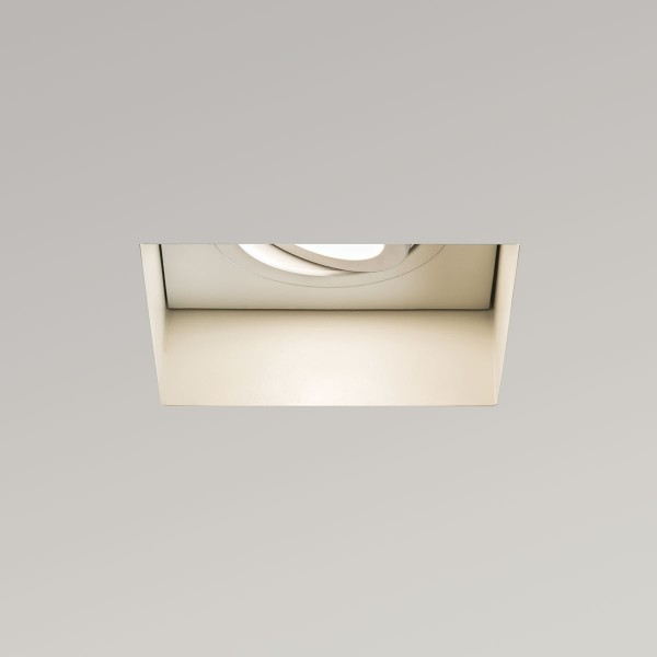 Astro Trimless Square GU10 White Adjustable Downlight
