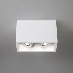 Astro Osca 140 Twin Plaster Adjustable Downlight
