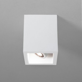 Astro Osca 140 Square Plaster Adjustable Downlight