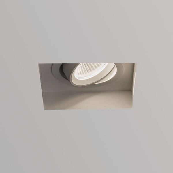 Astro Trimless Square White Adjustable LED Downlight
