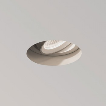 Astro Trimless Round White Adjustable LED Downlight