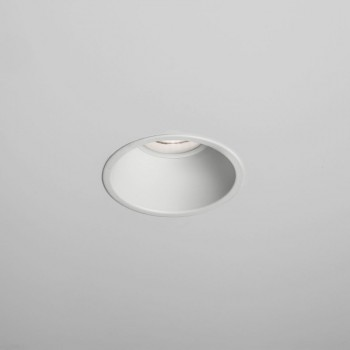 Astro Minima Round Textured White LED Downlight