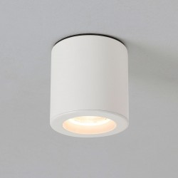 Astro Kos Round Matt White Bathroom Downlight
