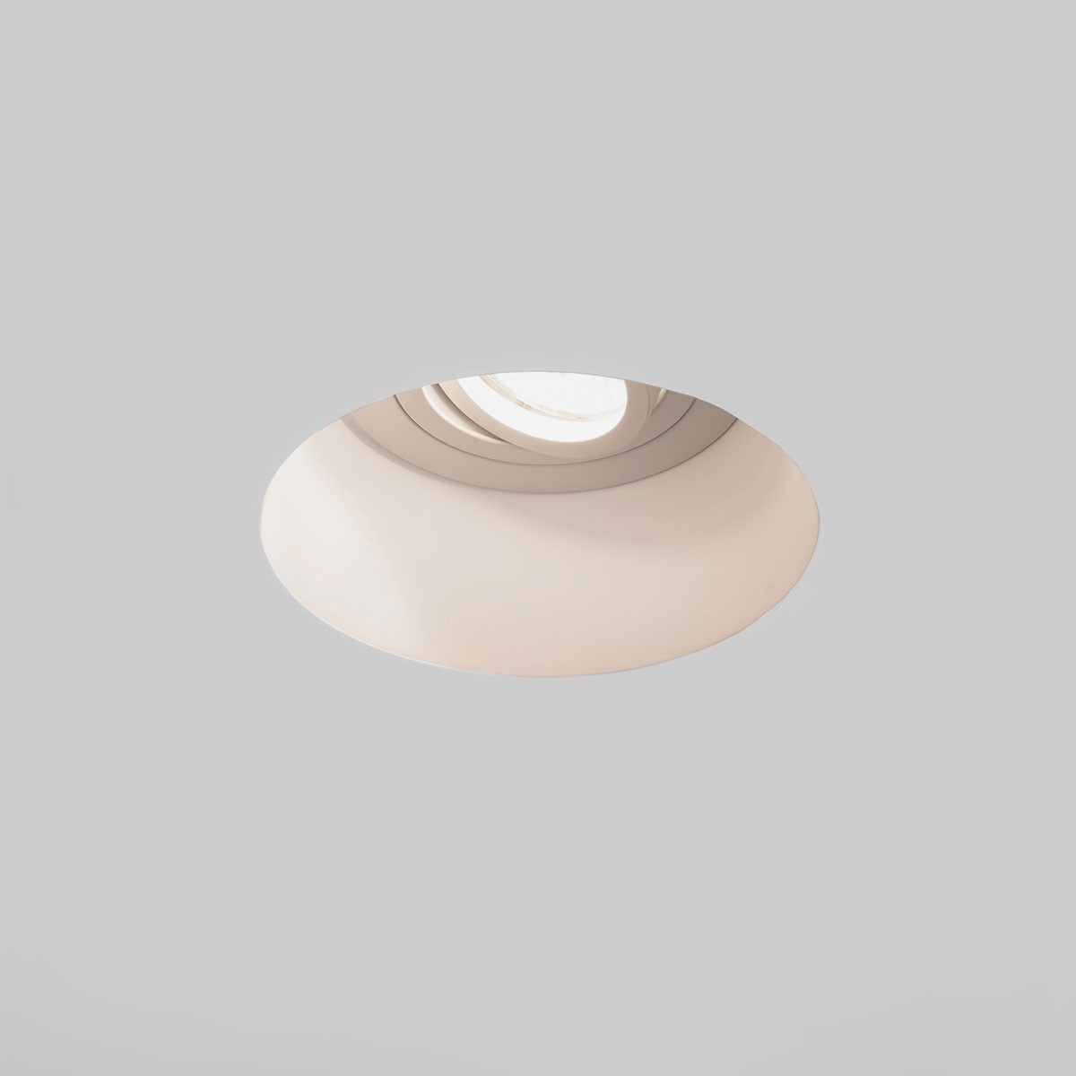 Astro Minima Round Gu10 White Downlight At Uk Electrical Supplies Led Torch Circuit Blanco Plaster Adjustable